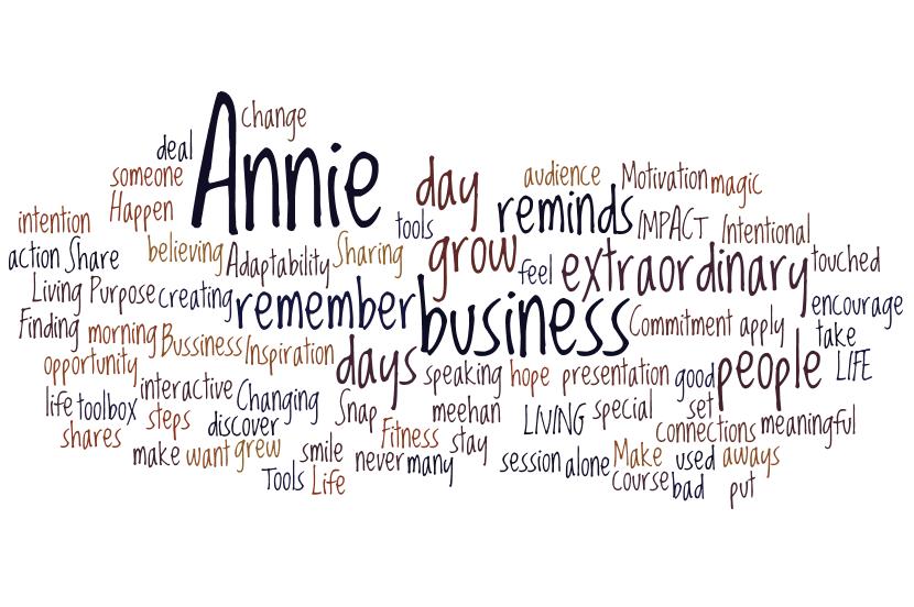 Annie Meehan, Speaker | Author | Coach