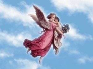 Angels hold us?
