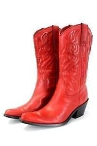 Red boots – Conference Shoes- Cute & Comfortable